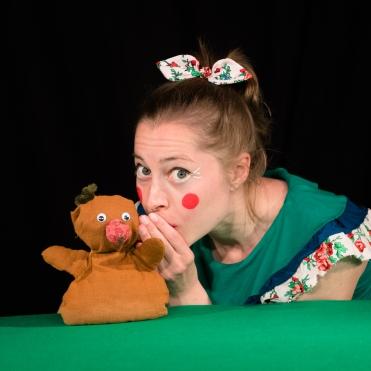 Amélie : Inspiratrice / Cocréatrice / Comédienne / Marionnettiste